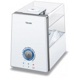 BEURER Ultrasonic air humidifier with water vaporization LB 88 white