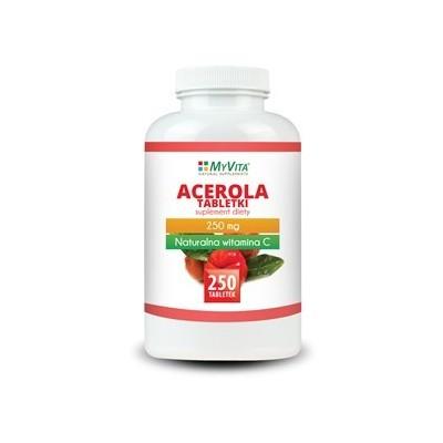 Acerola tabletki 250mg - 250 szt