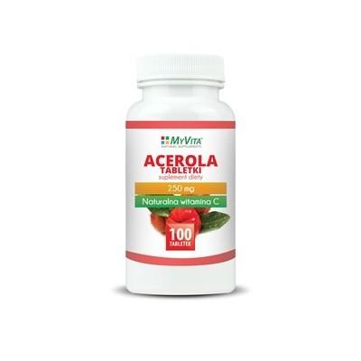 Acerola tabletki 250mg - 100 szt