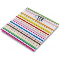BEURER Waga łazienkowa GS 27 Happy Stripes