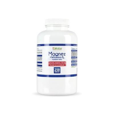 Magnez + B6 450mg - 100 tabl