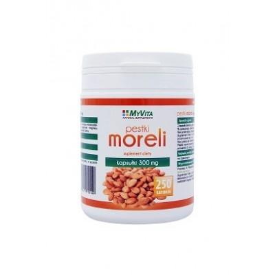 Pestki Moreli 300mg - 250 kapsułek