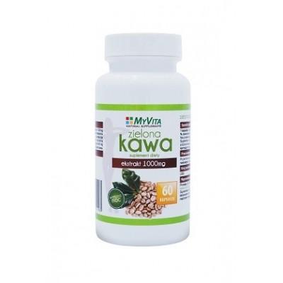Zielona Kawa 1000mg - 60 kapsułek