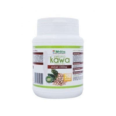 Zielona Kawa 1000mg - 250 kapsułek