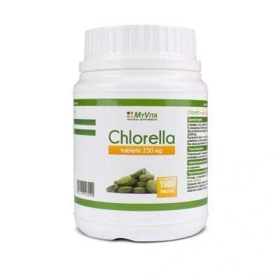 Chlorella 250mg - 1000 tabletek