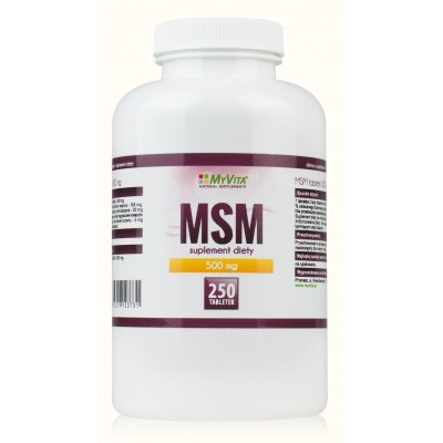 MSM tabletki 500mg - 250 szt