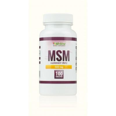 MSM tabletki 500mg - 100 szt