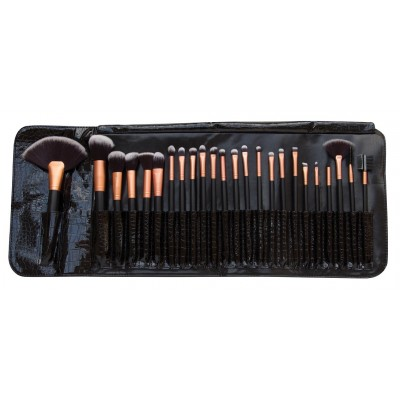 24 Piece Professional Cosmetic Make Up Brush Set