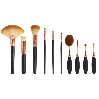 Zestaw szczotek i pędzli do makijażu The Makeup Artist's Professional Cosmetic Makeup Brush Collection
