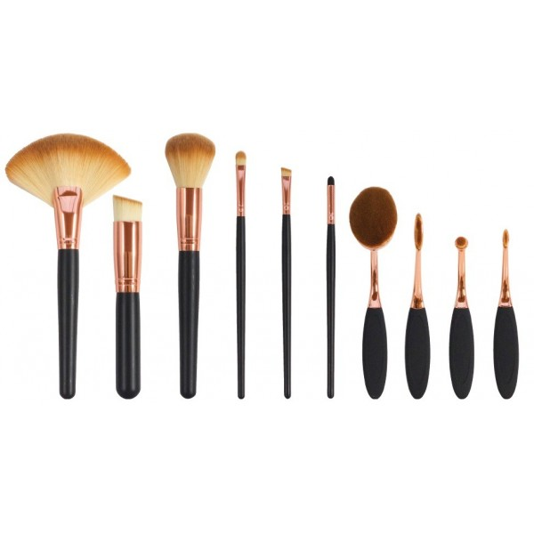 Zestaw szczotek i pędzli do makijażu The Makeup Artist's Professional Cosmetic Makeup Brush Collection