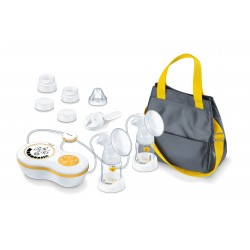 BEURER Double Electric breast pump with manual pump function BY 70 DUAL