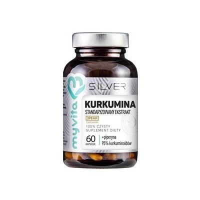 Kurkumina 95% + Piperyna 60 szt