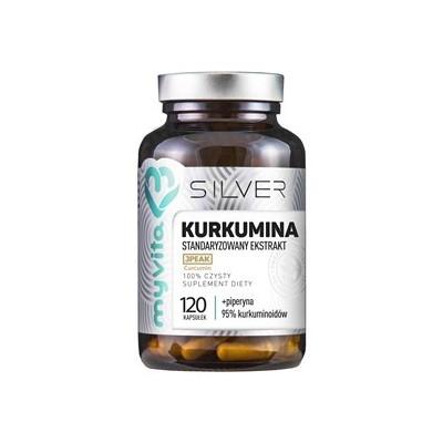 Kurkumina 95% + Piperyna 120 szt