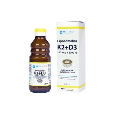Liposomalna Witamina K2+D3 250 ml