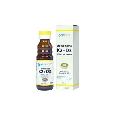 Liposomalna Witamina K2+D3 100 ml