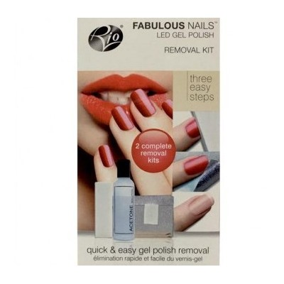 RIO BEAUTY  FABULOUS NAILS REMOVER