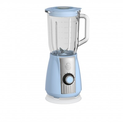Retro Stand Blender BLUE