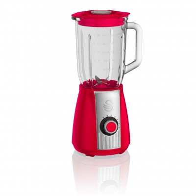 Retro Stand Blender RED