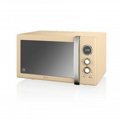 Digital Combi Microwave 25 L CREAM