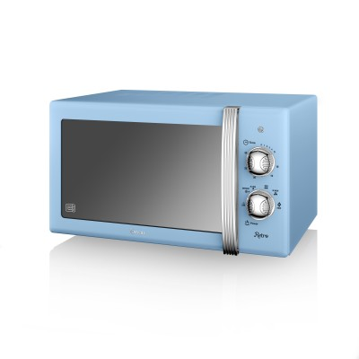 Manual Microwave 800W BLUE