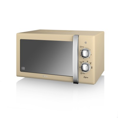 Manual Microwave 800W CREAM