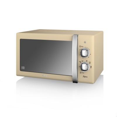 Manual Microwave 800W CREAM