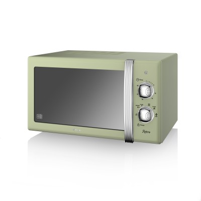 Manual Microwave 800W GREEN