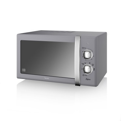 Manual Microwave 800W GREY