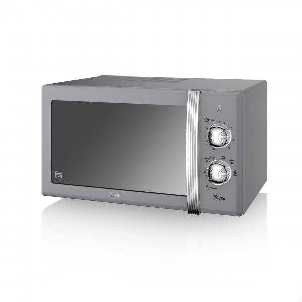 Manual Microwave 800W GREY