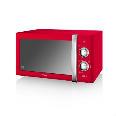 Manual Microwave 800W RED