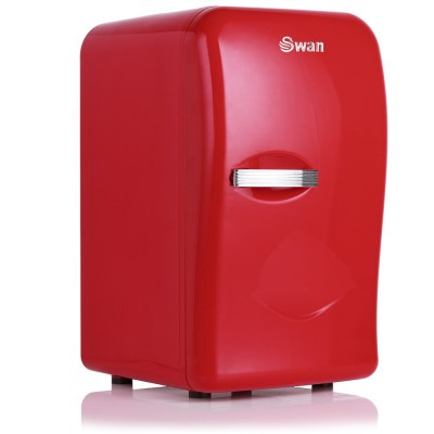 Retro Mini Fridge RED