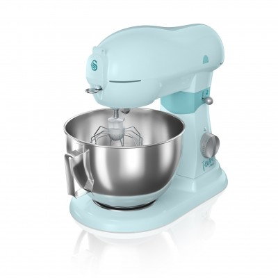 Die Cast Stand Mixer 6 Litre PEACOCK