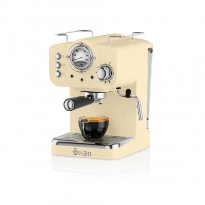 Pump Espresso Coffee Machine CREAM