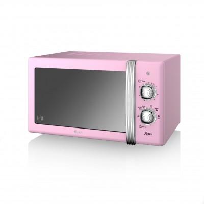 Manual Microwave 800W PINK