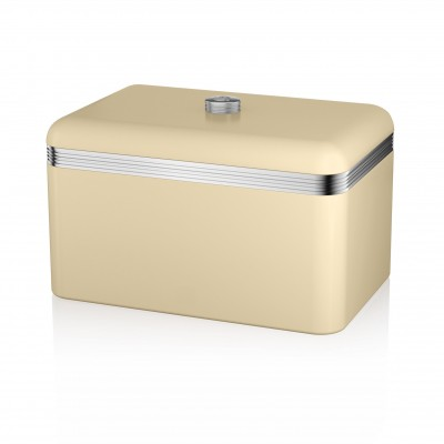 Retro Bread Bin CREAM
