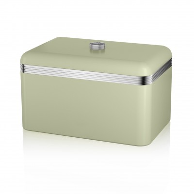 Retro Bread Bin GREEN