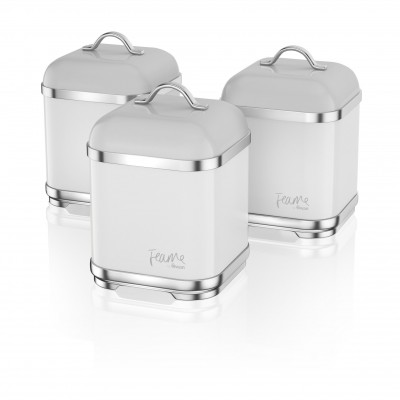 Set of 3 Canisters TRUFFLE