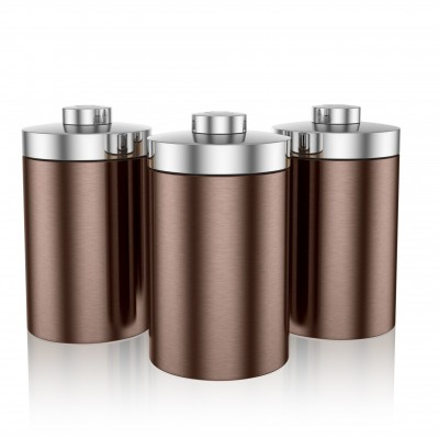 Townhouse Set of 3 Canisters