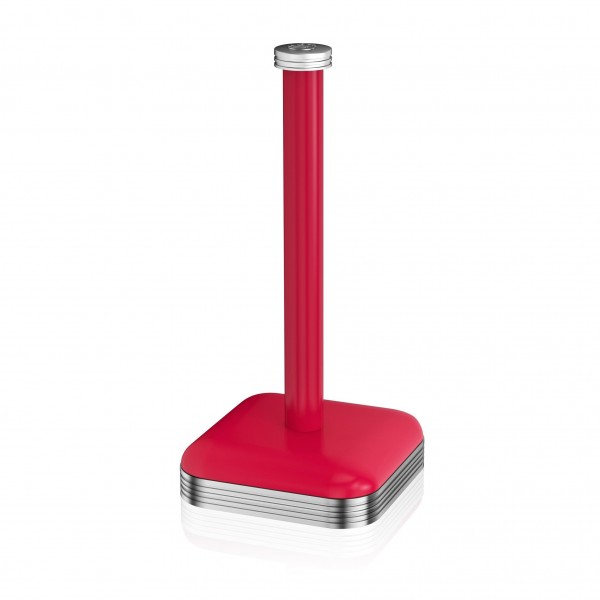 Retro Towel Pole RED