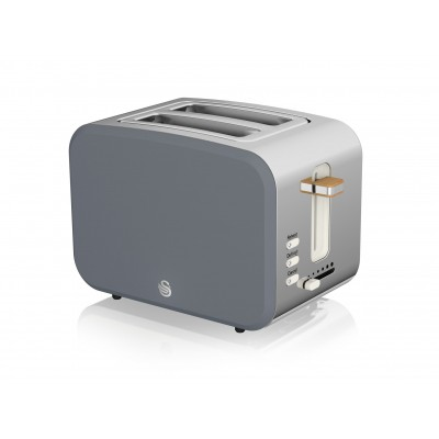 2 Slice Nordic Toaster GREY