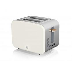 2 Slice Nordic Toaster WHITE