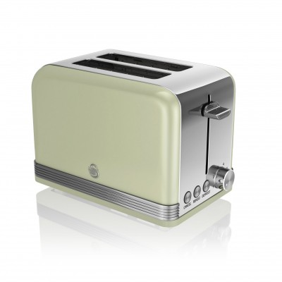 2 Slice Retro GREEN Toaster