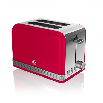 2 Slice Retro RED Toaster