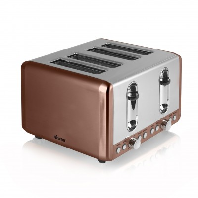 4 Slice Copper Toaster