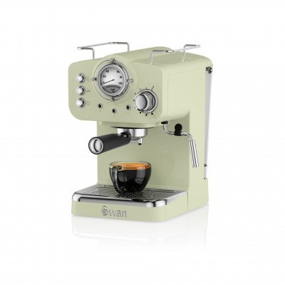 Pump Espresso Coffee Machine GREY