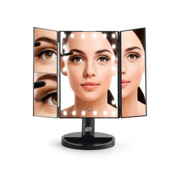 RIO BEAUTY 24 LED TOUCH DIMMABLE  MIRROR
