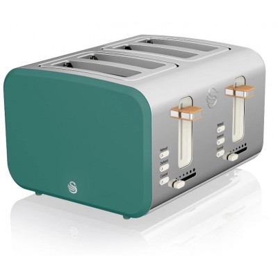 4 Slice Nordic Toaster GREY