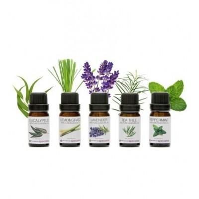 Naturalne olejki do aromaterapii - zestaw