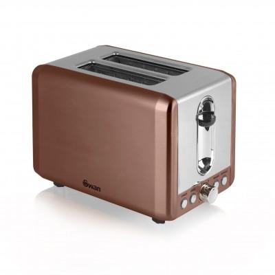 2 Slice Copper Toaster