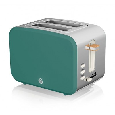 2 Slice Nordic Toaster GREY